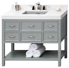 42 bathroom vanity cabinet astounding ronbow newcastle solid wood 42 vanity cabinet base ocean