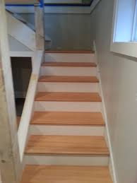 Laminate Flooring Stair Treads Treads And Risers Seattle General Contractor And Hardwood Flooring