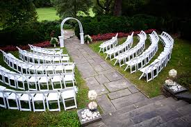 Backyard Wedding Setup Ideas Glenview Mansion Putting On The Ritz