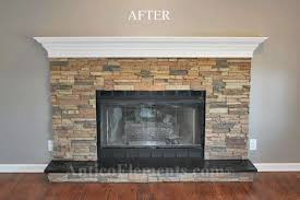 stone for fireplace like the idea of stone mantle but not a fan of this stone