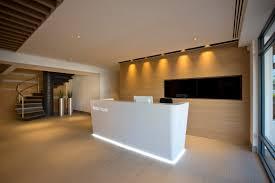 Circular Reception Desk by Home
