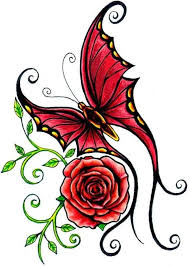 ed hardy clipart clipart collection butterfly by ed
