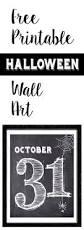 seasonal home decorations halloween october 31 wall art free printable free printable