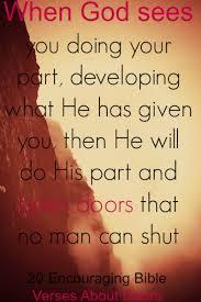 encouraging bible verses doors