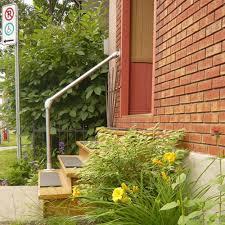 Exterior Stair Handrail Kits Outdoor Stair Railing Kit Buy Step Handrail Online Simplified