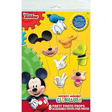 mickey mouse photo booth mickey mouse clubhouse photo booth props 8pc ebay