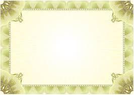 5 blank certificate samples blank certificates