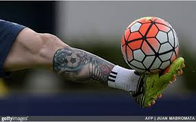 Lionel Messi Leg Football Ink Lionel Messi Covers Up Entire Leg With