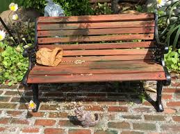 Rustic Outdoor Bench by Cutest Rustic Garden Art Ideas Ever Montana Happy