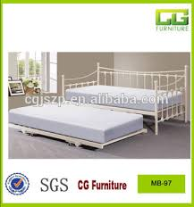 Day Bed Sofa Bed by Metal White Trundel Day Bed Sofa Bed Frame With Wooden Slats Bed