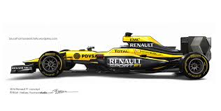 renault one 2016 renault f1 concept caught in my headlights