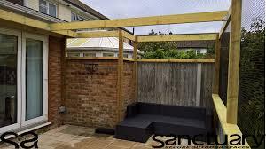 mesh roof enclosures u2013 sanctuary sos u2013 secure outdoor spaces for pets