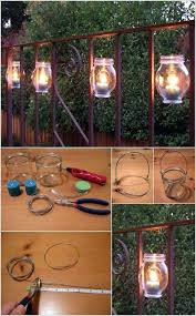 Diy Backyard Lighting Ideas 35 Amazing Diy Outdoor Lighting Ideas For The Garden Decorextra