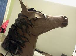 horse head horses and paper mache on pinterest idolza