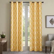 Yellow Window Curtains Buy Yellow Panel Curtains From Bed Bath U0026 Beyond