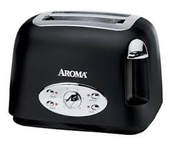 White Toaster 2 Slice 2 Slice Cool Touch Toaster Aroma Housewares