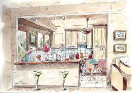 dessins de cuisine novembre 2013 a la cuisine aquarelles et dessins d yves damin