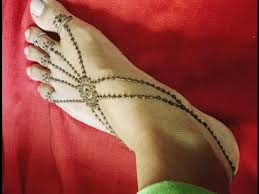 easy and fast mehndi design for legs by snehal