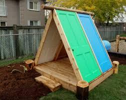 Backyard Fort Ideas Neoteric Backyard Fort Best 25 Ideas On Pinterest Garden