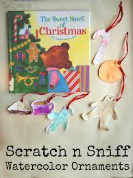 christmas ornaments for kids to make with scented paints