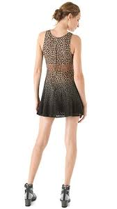free people leopard daisy dress shopbop
