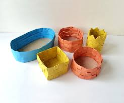 diy paper baskets 6 steps with pictures