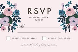 what does rsvp on an invitation