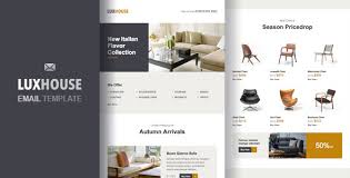 luxhouse u2013 ecommerce email template by zinchenko themeforest