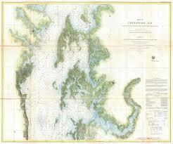 Chesapeake Bay Map File 1857 U S Coast Survey Chart Or Map Of The Chesapeake Bay