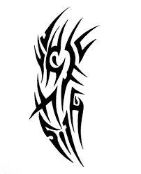awesome tribal tattoo design by sorentalon