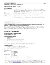 Sample Resume For Hr Coordinator Resume Samples For Hr Resume For A Generalist In Human Resources