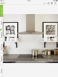 all about ceramic subway tile subway backsplash diamond pattern