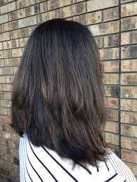 how to blend in gray roots of black hair with highlig our work hair we are salon renton