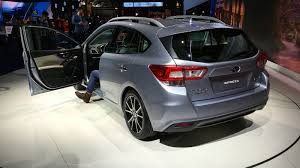 suv subaru 2017 2017 subaru impreza sedan and hatch debut at new york auto show