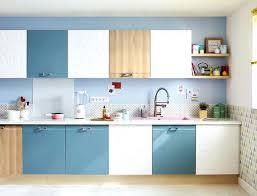 meuble cuisine leroy merlin delinia leroy merlin cuisine meubles de cuisine bleu avec placards