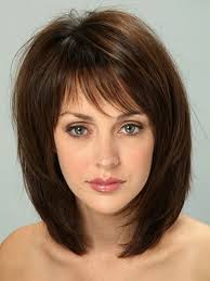 shoulder length hairstyke oval face layered medium hairstyles for all face shapes hairjos com