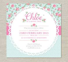 Shabby Chic Website Templates by Shabby Chic Birthday Invitations Haskovo Me