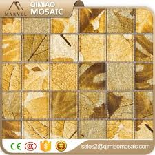 wholesale gold leaf mosaic tile online buy best gold leaf mosaic