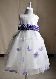kids summer frock design prom dress flower ball gown dress