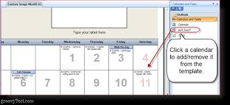 how to print overlain calendars in outlook with calendar printing