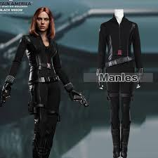 Halloween Costume Black Widow Aliexpress Buy Movie Captain America 2 Winter Soldier