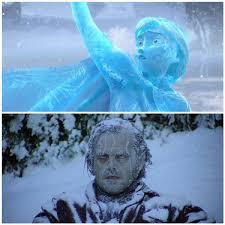 wait frozen shining basically movie
