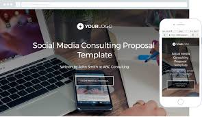 free social media consulting proposal template better proposals