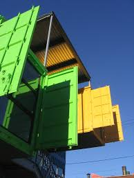 shipping container architecture information repository