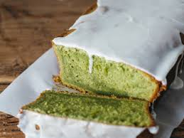 matcha pound cake with almond glaze recipe food u0026 wine