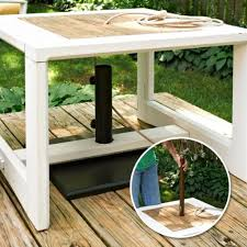 umbrella stand side table patio umbrella stand side table probably super awesome patio