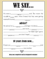 wedding advice card wedding advice cards lilbibby