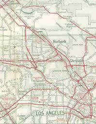 studio city map sr 170 freeway extension highland avenue southern
