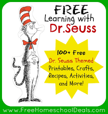 learning dr seuss 100 free dr seuss themed printables