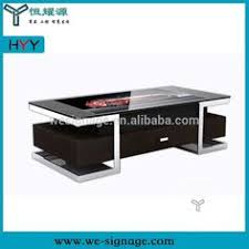 Touch Screen Coffee Table by Interactive Touch Screen Kiosk With Mini Pc And Digital Menu Board